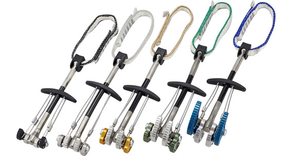 Climbing Technology Anchors nuts set 1-5